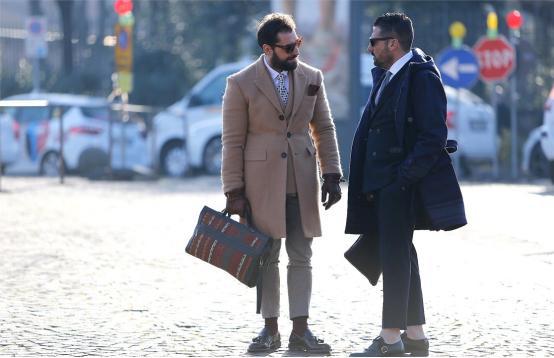 商务男士标配装扮,让生活充满仪式感