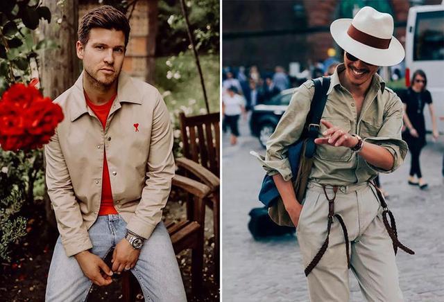 打造复古style,型男必穿卡其色